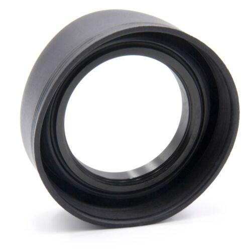 LENS HOOD RUBBER 49mm black for Sony E 50 mm F1.8 SEL-50F18