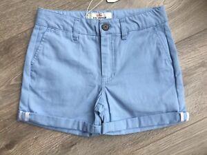 ben-sherman-Boys-Pale-Blue-Shorts-Smart-Age-6-7-Bnwt-Rrp-22-00