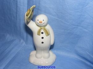 John-Beswick-The-Snowman-Waving-Goodbye-JBS6-Raymond-Briggs-NEW-Collectable