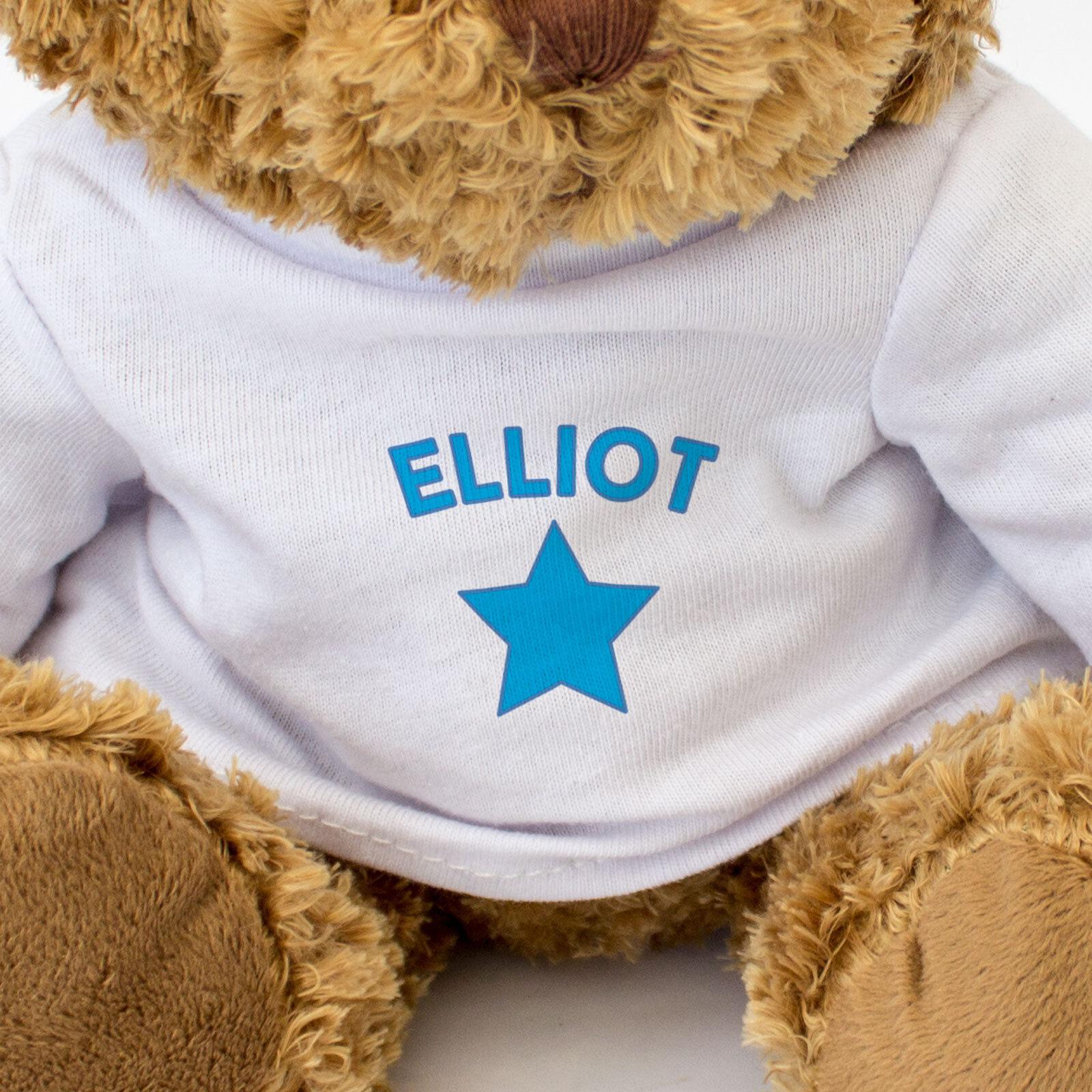 Nuevo - Elliot - Oso de Peluche - - - Lindo y Tierno - Regalo Presente 407bad