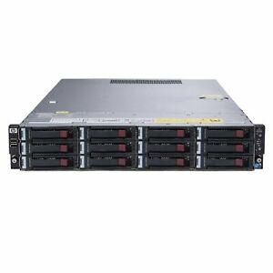 HP-dl180-g6-14x-3-5-034-HDD-2x-CPU-32gb-RAM-p410-Server-Rackmount-NAS-2-bay-2u