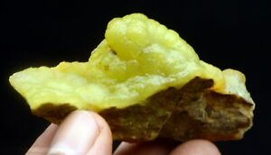 70g New Find Natural Beauty Yellow Smithsonite Mineral Specimen/China