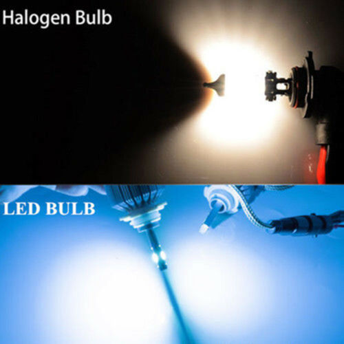 2X ICE Blue 8000K 72W COB LED Headlight Hi//Lo Beam For Chevrolet Cruze 2011-2015