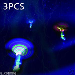 3x-Dragonfly-Toy-Flash-Kids-Children-Flying-Rotor-LED-Light-Up-Gift-Spinning-e