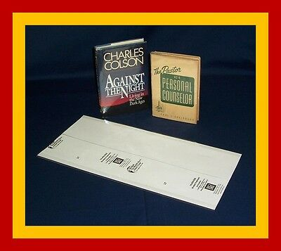 """1 (one) 8 5/8"""" X 18 1/2"""" Brodart Fold-on Book Jacket Cover - Lo-luster Mylar In Pain"""