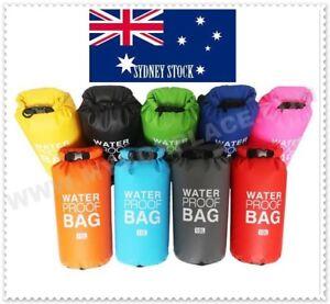 10L Dry Waterproof Storage Carry Bag Sack Canoe Kayak Boat Trip Swimming Cruise
