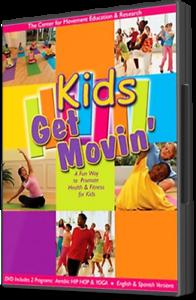 Kids Get Movin Dvd New Exercise For Children 5 13yrs Old