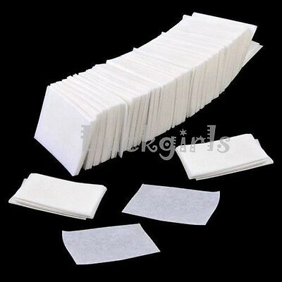 900 x Nail Art Manicure Polish Remover Cleaner Wipe Lint Free Cotton Pads Paper