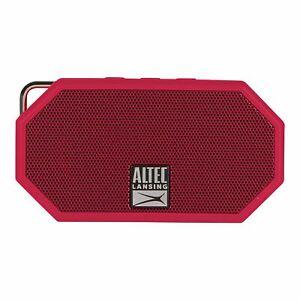 Altec Lansing IMW258-DR Mini H2O 3 Wireless Portable Bluetooth Waterproof Speake