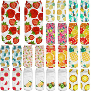 Cute-Casual-Cotton-Socks-3D-Fruits-Printing-Medium-Socks-Socks-Sports-Socks