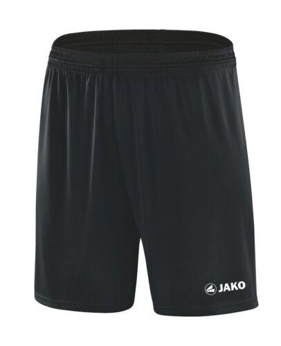 JAKO short Manchester hommes femmes enfants short pantalon court noir neuf