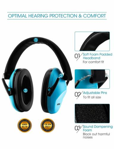 US ANTSIR Noise Cancelling Earmuff Hearing Safety Shooting Defender Soundproof