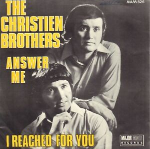 CHRISTIEN-BROTHERS-THE-Answer-Me-1969-PROMO-VINYL-SINGLE-7-034-BELGIUM