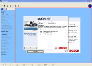 tronic Full Activator Bosch ESI 2013.1+2013.2+2013.3  /&C,K,W Archive