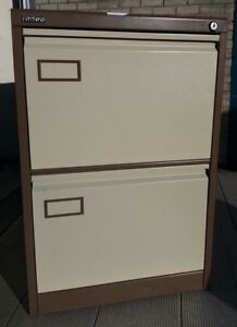 office storage unit. Image Is Loading 2-Drawer-Roneo-Filing-cabinet-with-lock-and- Office Storage Unit