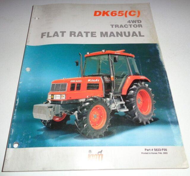 kioti instruction manual