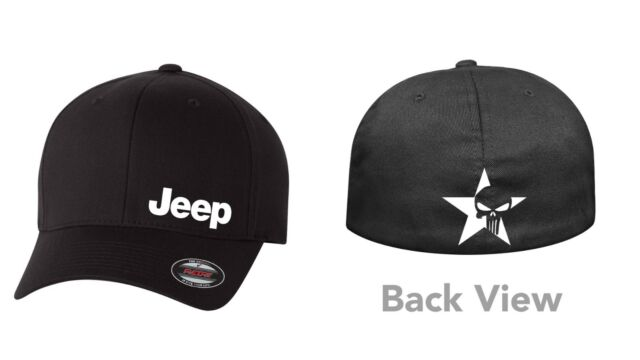 JEEP 4X4  DELTA  FLEXFIT HAT *FREE SHIPPING IN A BOX*