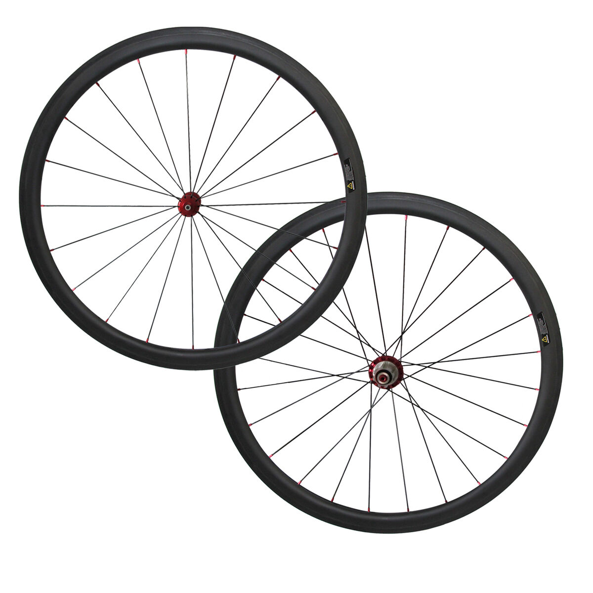 1390g Straight pull 38mm clincher wheelset with Powerway R36 carbon  hub  wholesale price and reliable quality