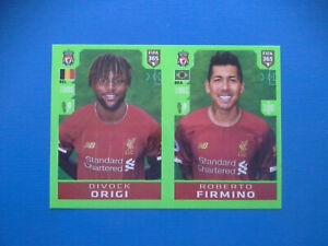 Figurine-Panini-Fifa-365-2019-20-2020-n-39-Origi-Firmino-Liverpool