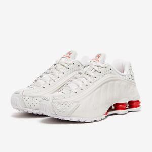 Nike-Shox-R4-Neymar-Jr-PLATINO-Tinta-Rosso-BV1387-002-UK-8-9-10