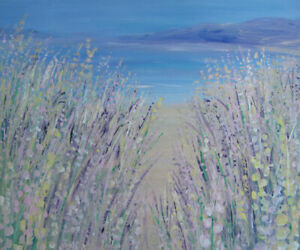 Through-the-Dunes-to-the-Sea-a-very-large-painting-on-canvas-by-Jenny-Hare
