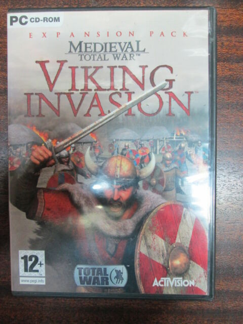 Medieva; Total War - Viking Invasion Expansion Pack Player Manuals + Install Key