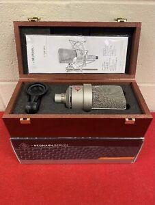 Neumann TLM103 Large-Diaphragm Condenser Microphone, Case - Nickel