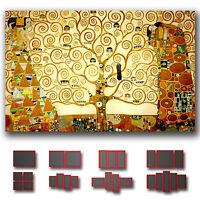 ' Gustav Klimt - The Tree Of Life ' Fine Art Canvas Box  ~ 1 Panel