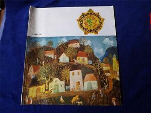 HUNGARIAN-TRAVEL-MAGAZINE-AUTUMN-1967-ROUTE-TO-BUDAPEST-MAP-TRANSDANUBIA-MUSEUMS