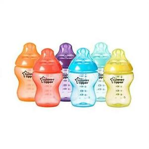 Tommee-Tippee-Closer-to-Nature-Fiesta-Baby-Feeding-Bottles-Anti-Colic-Slow