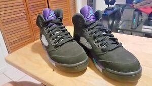 hot sale online 74876 33b91 Details about Nike Air Jordan 23 black grape 5 kids sz 5Y 1 2 3 4 5 6 7 8 9  10 11 12 13 14 15