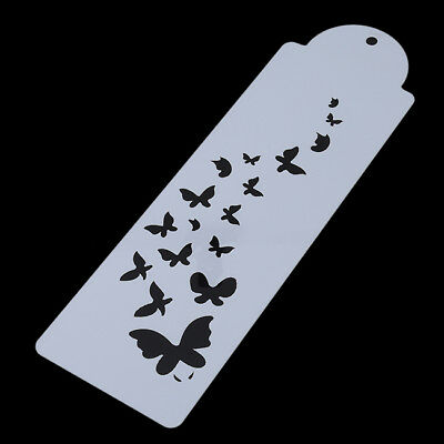 Laser Cut Butterfly Design Cake Cookie,Craft /& Face Painting Stencil Template FM