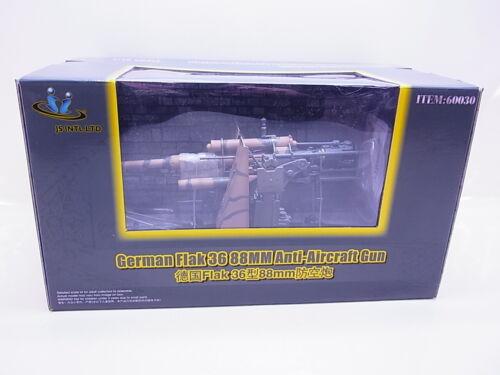 62313 Merit 60030 German Flak 36 88mm Anti-Aircraft Gun listo Model 1:18 nuevo embalaje original
