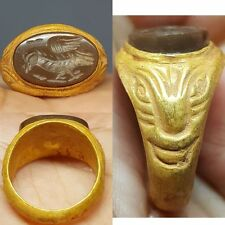BEAUTIFUL RARE ANCIENT PURE GOLD RING 4.71 grams