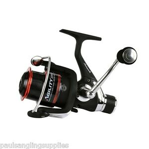 Shakespeare-Agility-Match-Feeder-Spin-Spinning-Fishing-Reel-35-Rear-Drag