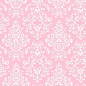 Pink White Damask Wallpaper Babies Kids Tween Damask Wallpaper