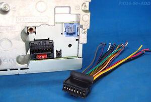 pioneer radio plug stereo harness avh x2500bt p4400bh. Black Bedroom Furniture Sets. Home Design Ideas