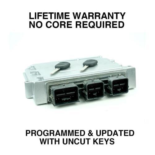 Engine Computer Programmed with Keys 2005 Mercury Montego 5G1A-12A650-AJA XZJ0