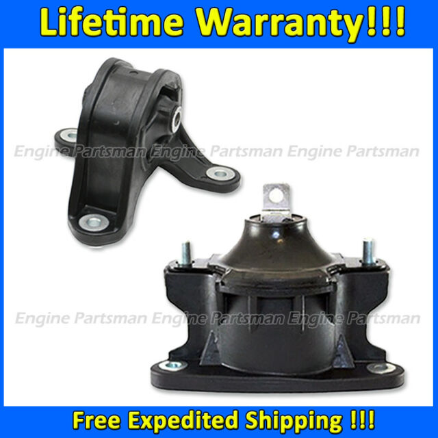 K1598 Front&Rear Motor Mount 2pc For 08-12 Accord/09-13