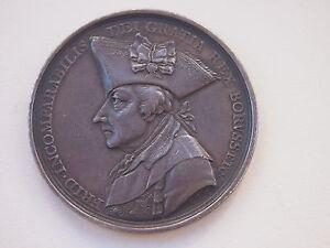 1740-1786 Auf Seinen Tod Silber 1786 Königreich Preussen Friedrich Ii
