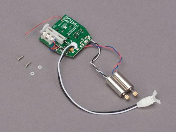 rosso BULL 4-in1 PCB (RX, Gyro, ESC, mixer) con motori Drive