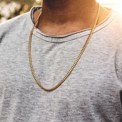 Hip Hop Rapper S 14k Stamped Gold Plated 3mm 5mm Miami