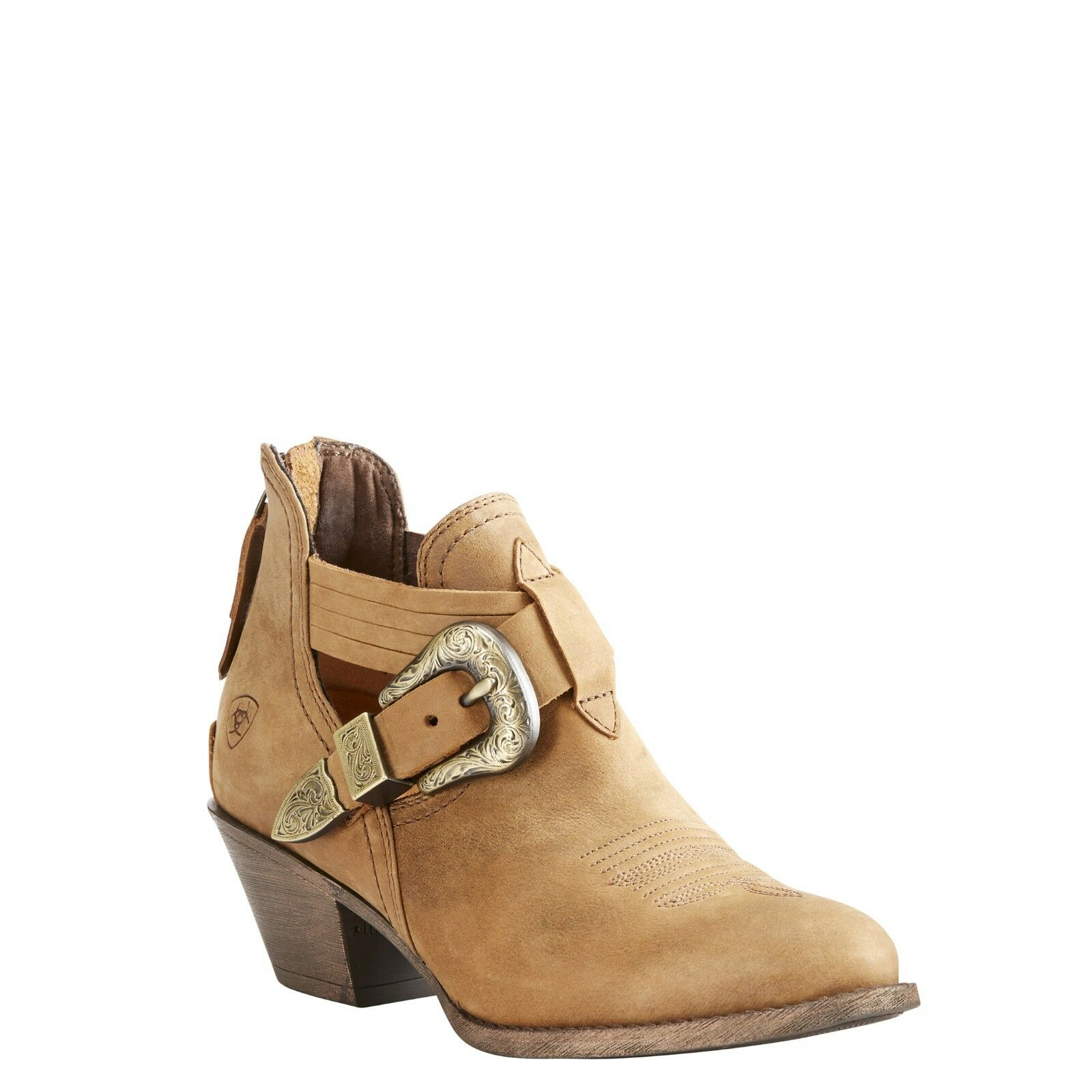 Ariat® Ladies Dulce Tawny Brown Ankle Boot 10023193