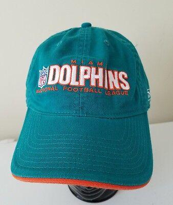 Miami Dolphins Reebok On Field Vintage cap hat Throwback Old Logo Coach Wise 5ebd6bef4edd