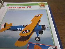 Faszination 15 3 Boeing Stearman Steasrman 75 Schulflugzeug Stuntflugzeug USA