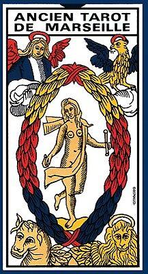 Ancien Tarot De MARSEILLE GRIMAUD  (Carte-Divination)