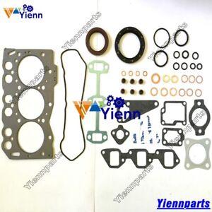 3TNE68-3D68E-Full-Overhaul-Gasket-Kit-For-Yanmar-KOMATSU-PC12R-PC15R-Excavator