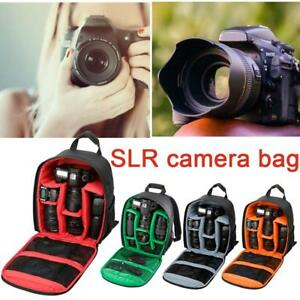 1X Travel Waterproof DSLR SLR Camera Bag Backpack Rucksack For Canon Nikon Sony