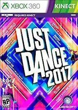 Just Dance 2017 (Microsoft Xbox 360, 2016) - COMPLETE