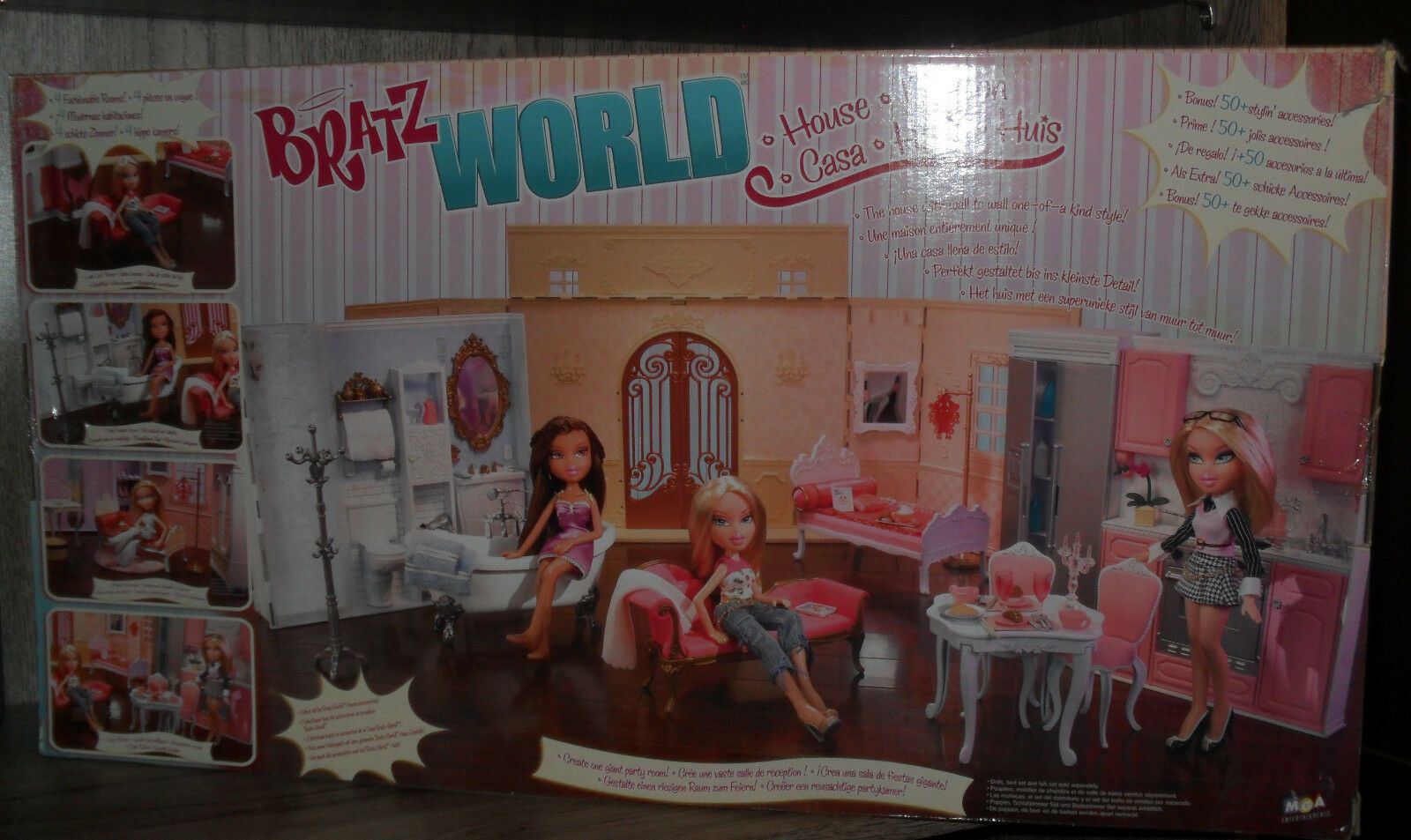 Bratz world maison house DE muñeca BRATZ doll NRFB